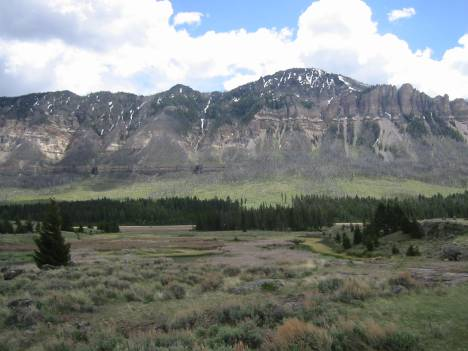 Cathedral Cliffs along Chief Joseph Highway
