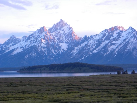 View from Jackson Lake lodge