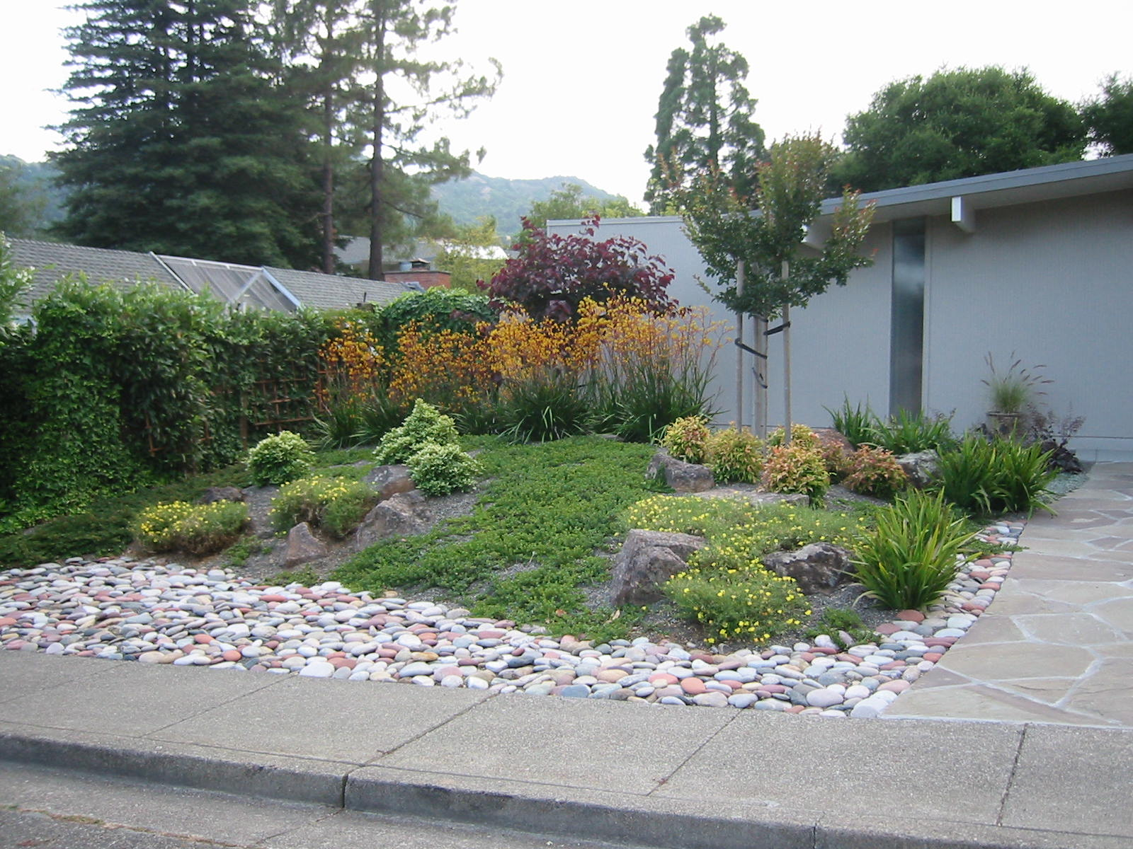 Ideas For A Slope Landscaping A Hillside With Boulders