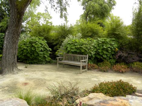 """Decomposed Granite patio dusting method after 5 years needs new 1/2"""" DG application"""