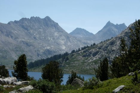Middle Fork Lake...the Divide