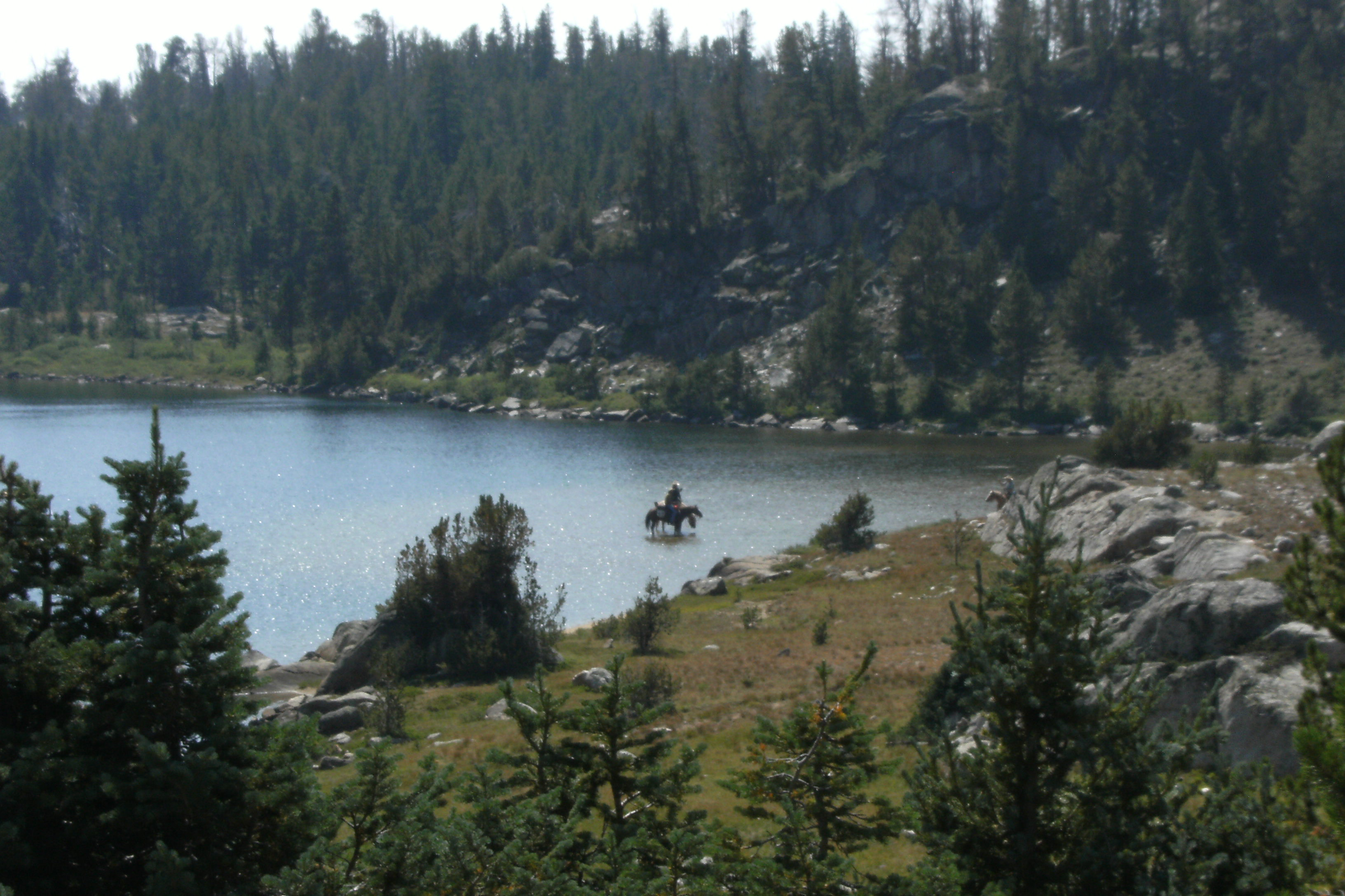 From There I Took A Day Hike To Middle Fork Lake, An Eastwest Drainage  With Access To The Divide Passes Because I Was Anxious To Camp In Alpine  Country,