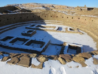 The largest Kiva at Chaco could house hundreds if not a thousand people