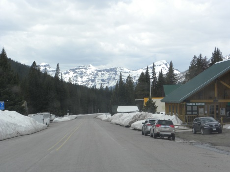 Cooke City today, looking towards the NE entrance